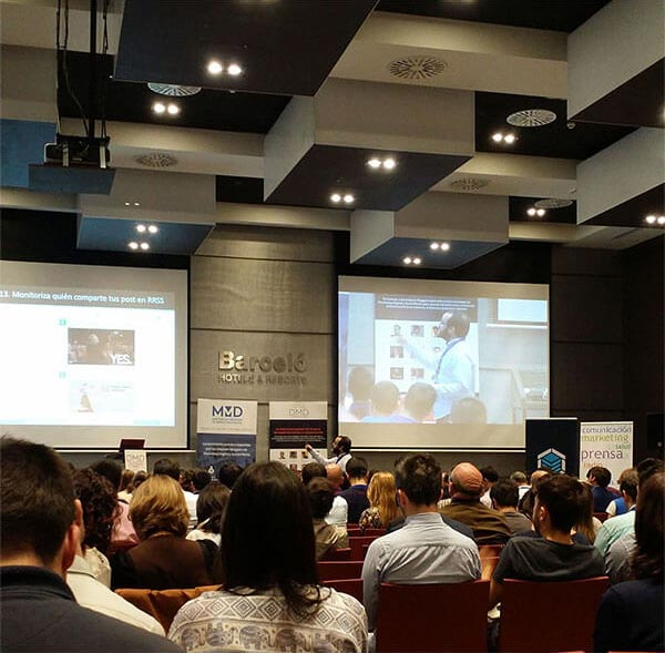Digital Marketing Day Málaga 2016 auditorio