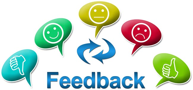 Redes sociales feedback