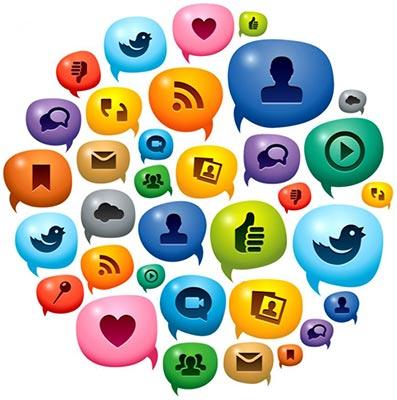 Redes sociales interactividad