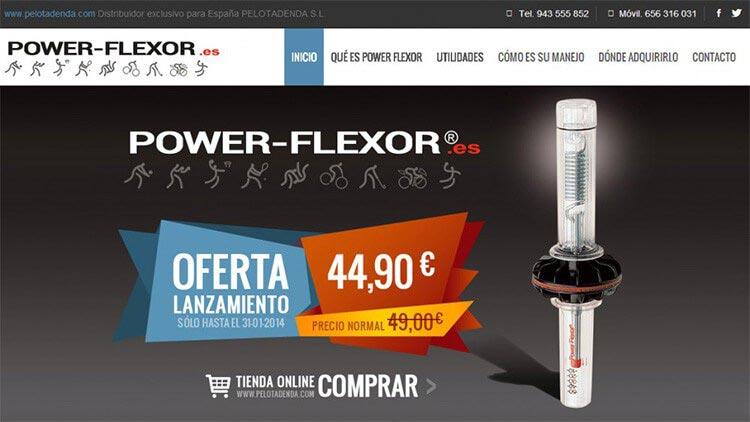 Sitio web de producto