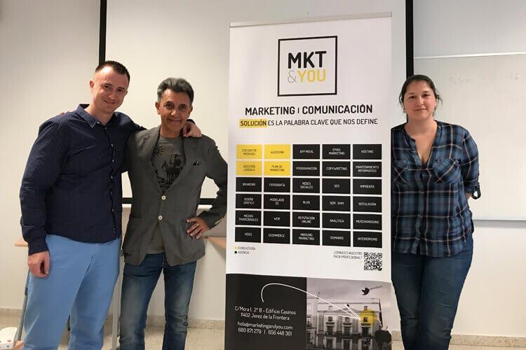 Máster marketing digital Universidad de Cádiz seminario Juan Galera coordinador