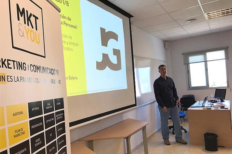 Máster marketing digital Universidad de Cádiz seminario Juan Galera marca personal