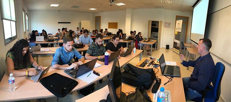 Máster marketing digital Universidad de Cádiz seminario Juan Galera práctica ecommerce