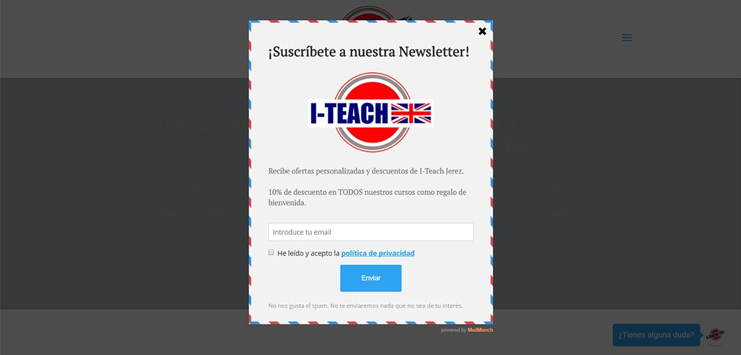 Email marketing I-Teach