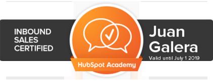 Inbound sales Jerez de la Frontera certificación HubSpot
