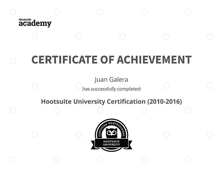 Social media Jerez de la Frontera redes sociales certificado Hootsuite