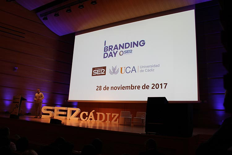 Cadena SER Branding Day Cádiz ponencia Juan Galera presentación