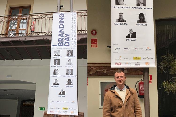 Cadena SER Branding Day Cádiz cartel ponentes