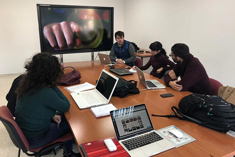 Universidad de Cádiz curso de Wordpress y redes sociales David Abril