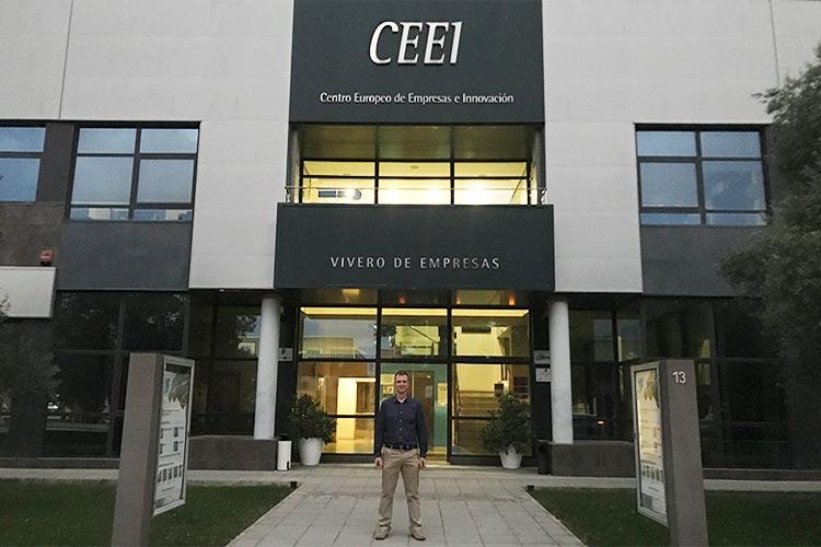 Taller TIC Juan Galera Centro Europeo de Empresas e Innovación fachada edificio