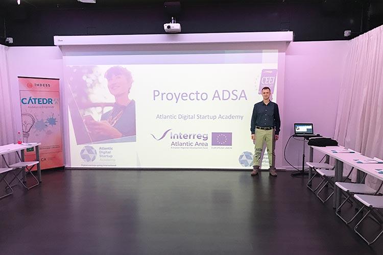 Taller TIC Juan Galera Centro Europeo de Empresas e Innovación programa ADSA