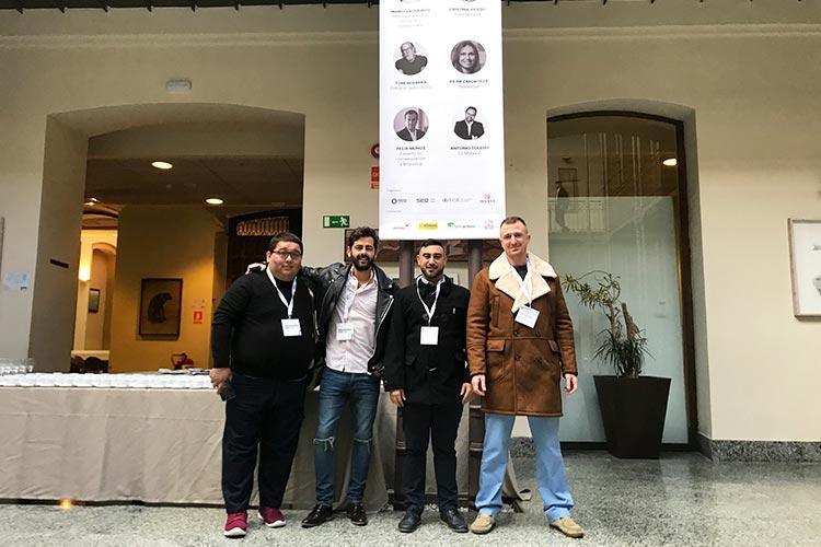Juan Galera y alumnos Branding Day Cádiz 2018