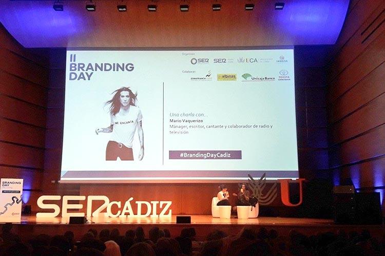 Mario Vaquerizo Branding Day Cádiz 2018