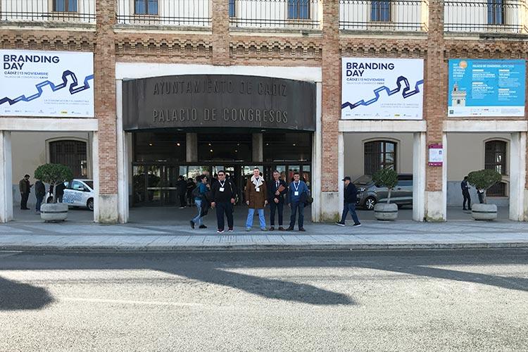 Palacio de Congresos Branding Day Cádiz 2018