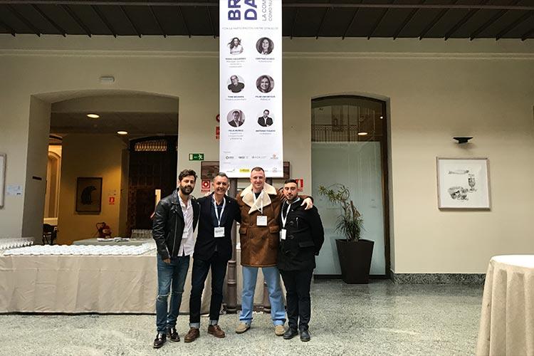 Profesores y alumnos Branding Day Cádiz 2018