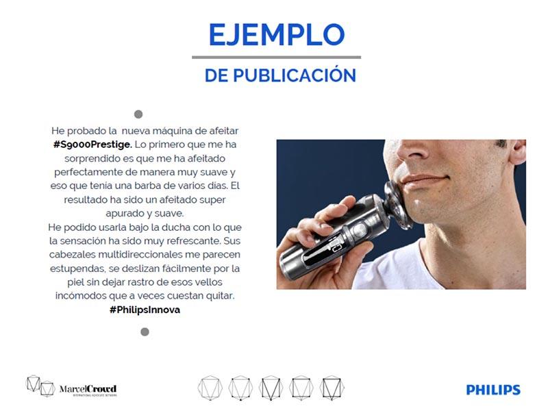 Briefing campaña Philips ejemplo