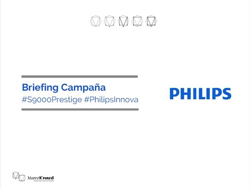 Briefing campaña Philips portada