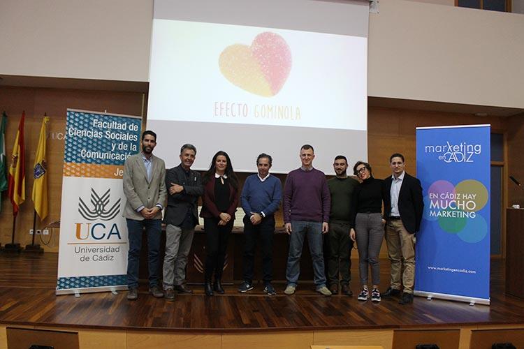 Presentación Asociación Marketing en Cádiz organizadores y ponentes