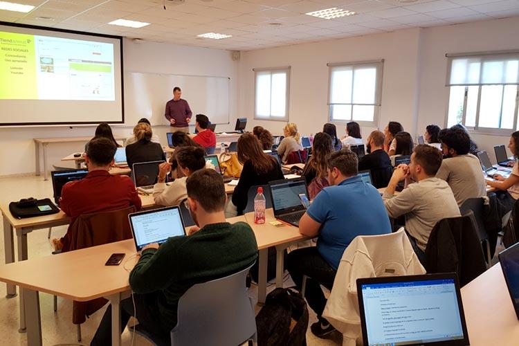 Seminario planificación estratégica Máster marketing digital UCA análisis página web