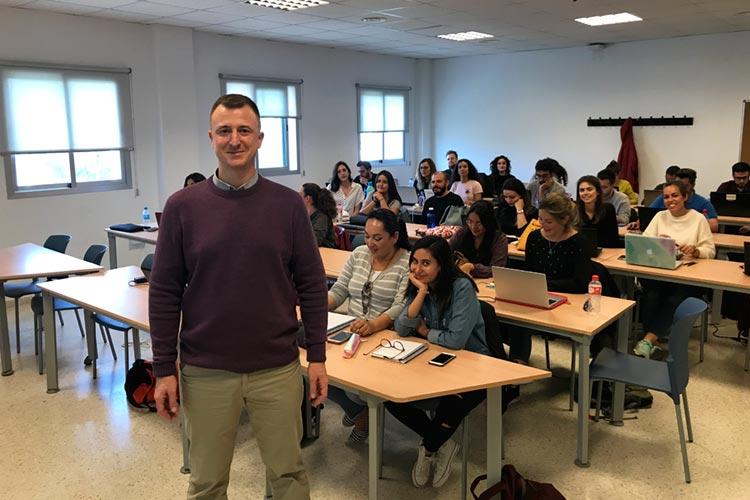 Seminario planificación estratégica Máster marketing digital UCA docente Juan Galera