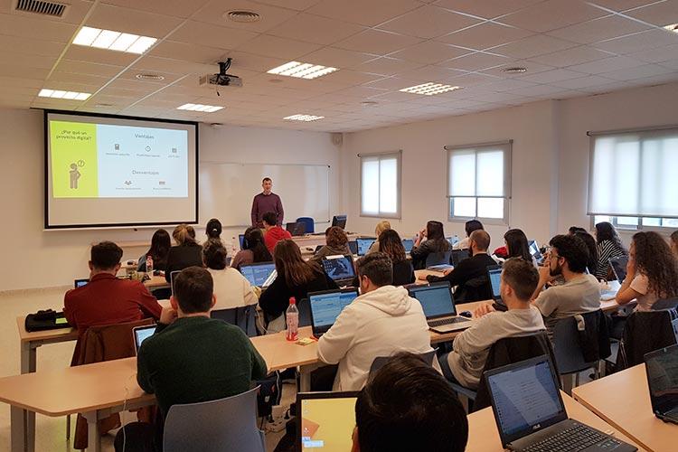 Seminario planificación estratégica Máster marketing digital UCA evaluación de proyecto