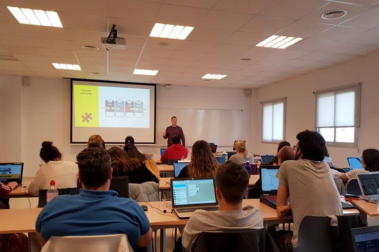 Marketing digital Máster UCA seminario planificación estratégica fases inbound marketing