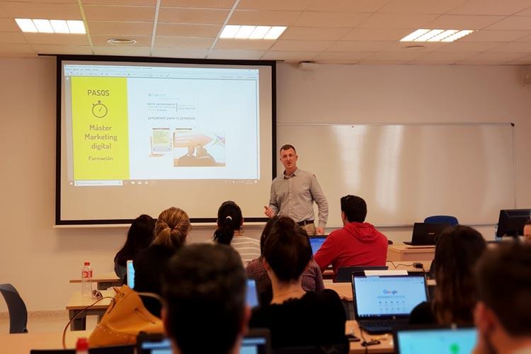 Seminario planificación estratégica Máster marketing digital UCA formación