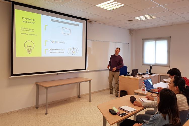 Seminario planificación estratégica Máster marketing digital UCA fuentes de inspiración