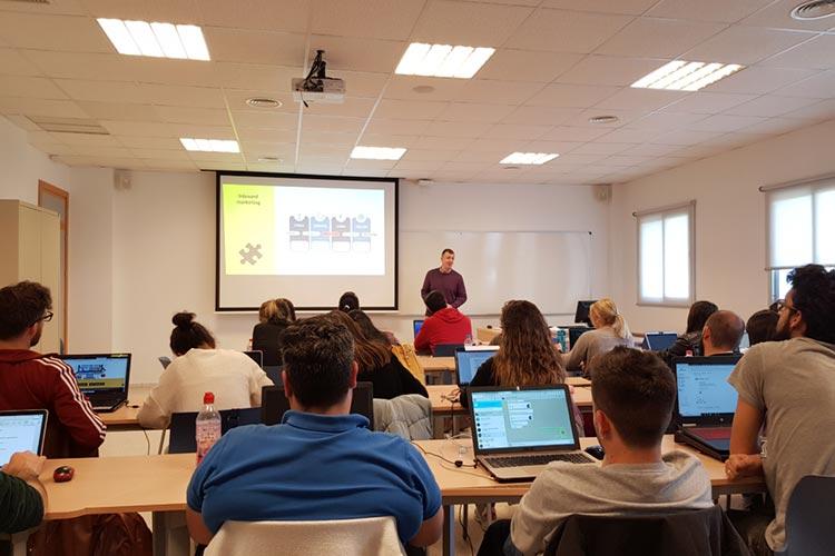 Marketing digital Máster UCA seminario planificación estratégica inbound marketing