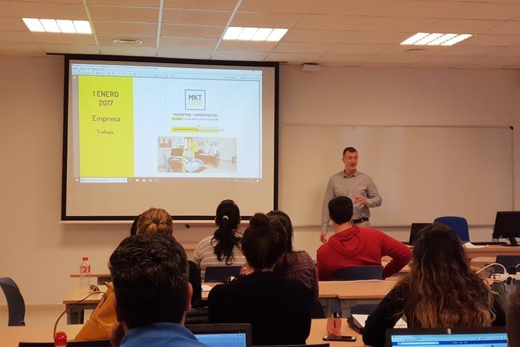 Marketing digital Máster UCA seminario planificación estratégica marca personal