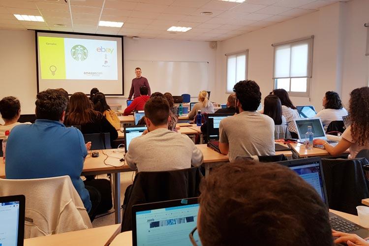 Marketing digital Máster UCA seminario planificación estratégica propuesta de valor