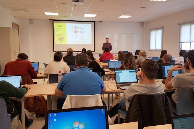 Seminario planificación estratégica Máster marketing digital UCA Teoría de los Océanos