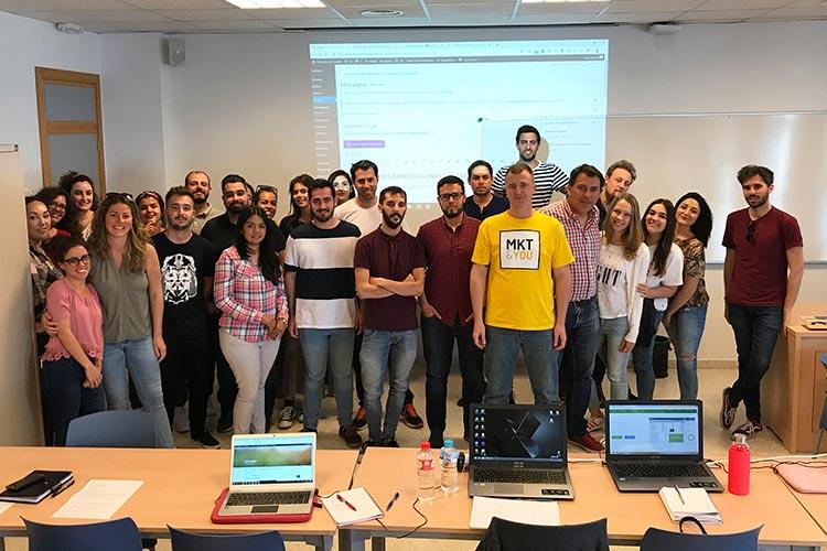 Curso SEO Jerez Máster Marketing Digital UCA final formación