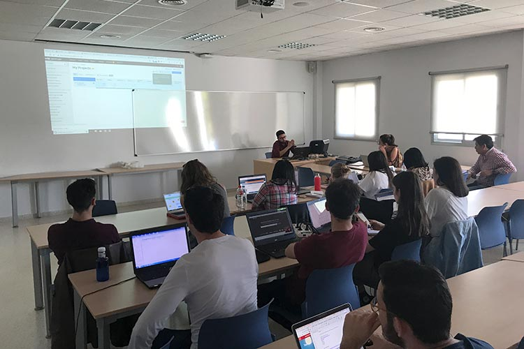 Curso SEO Jerez Máster Marketing Digital UCA monitorización keywords