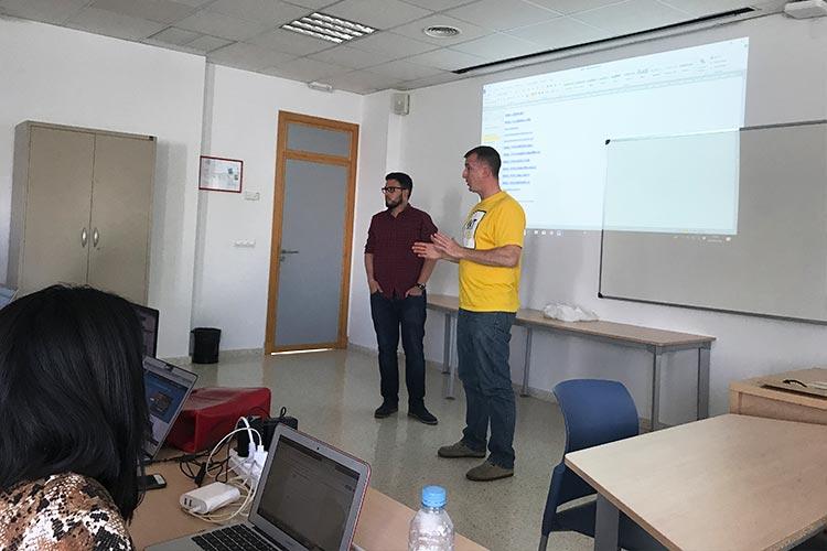 Curso SEO Jerez Máster Marketing Digital UCA presentación docentes