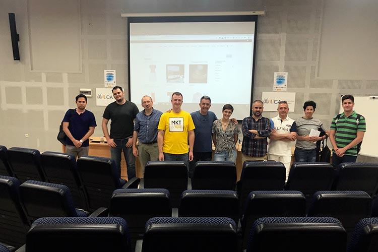Meetup Oficial de WordPress en Cádiz final formación