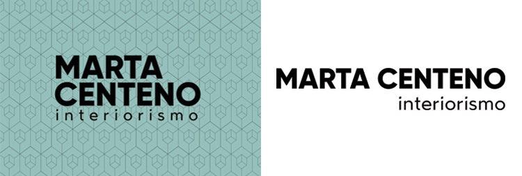 Diseño gráfico branding Interiorismo Marta Centeno