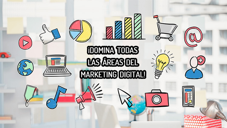 Máster y cursos online de marketing digital UCA áreas y especialidades