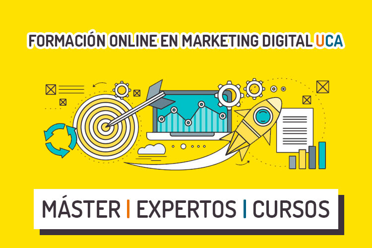 Máster y cursos online de marketing digital UCA imagen destacada