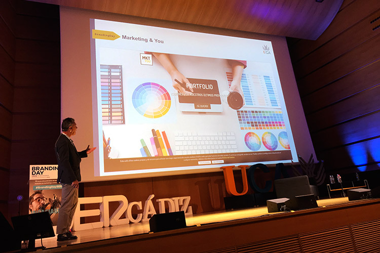 Branding Day Cádiz 2019 exposición Marketing and You agencia destacada