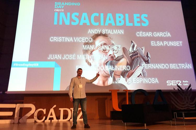 Branding Day Cádiz 2019 Juan Galera escenario