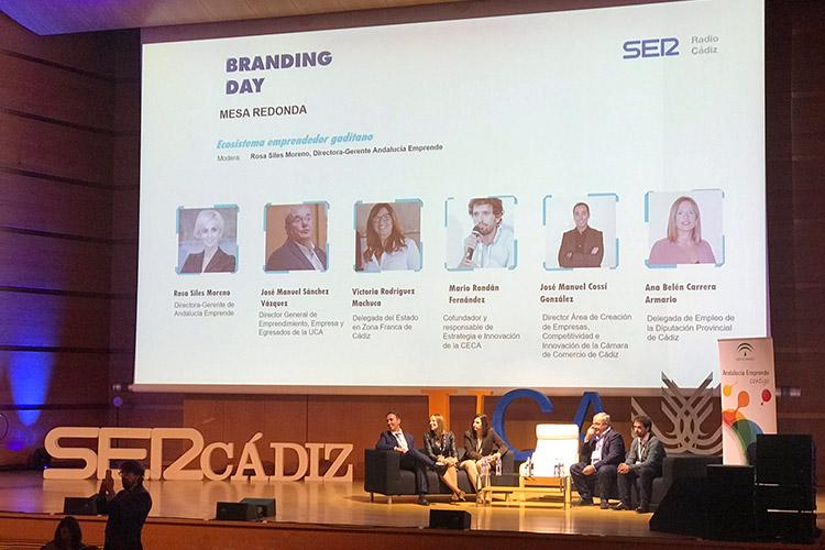 Branding Day Cádiz 2019 mesa redonda