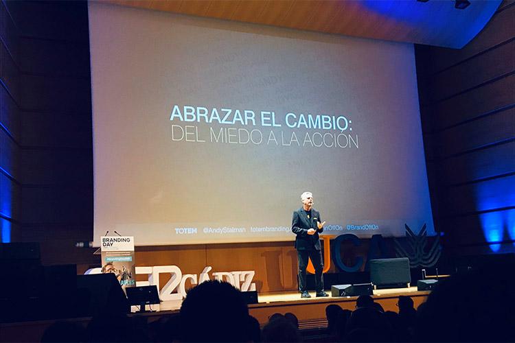 Branding Day Cádiz 2019 ponencia Andy Stalman vista frontal