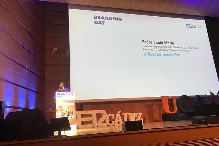 Branding Day Cádiz 2019 ponencia Pedro Pablo Marín