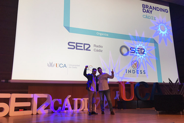 Branding Day Cádiz 2019 tándem Galera Mier-Terán