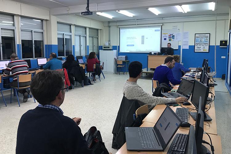 Curso diseño web y ecommerce Instituto Andrés Benítez acceso Demos WP