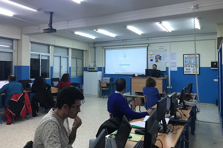 Curso diseño web y ecommerce Instituto Andrés Benítez acceso PrestaShop