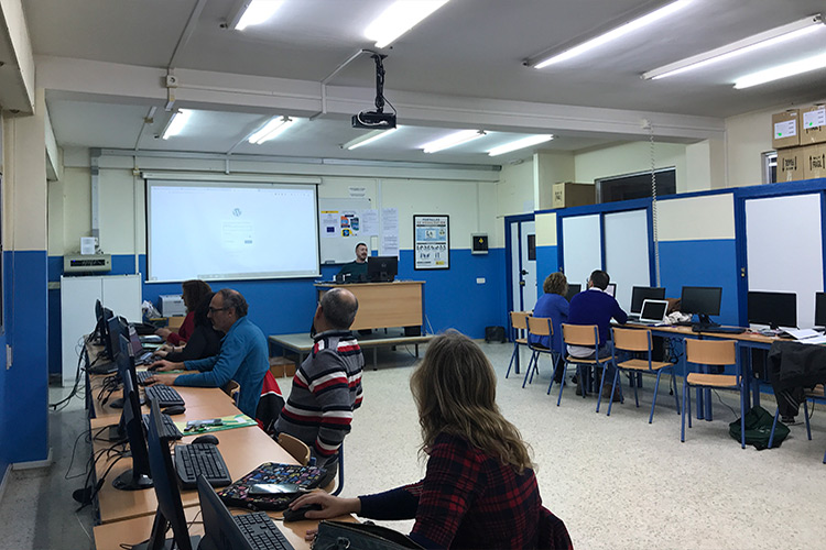 Curso diseño web y ecommerce Instituto Andrés Benítez acceso WordPress