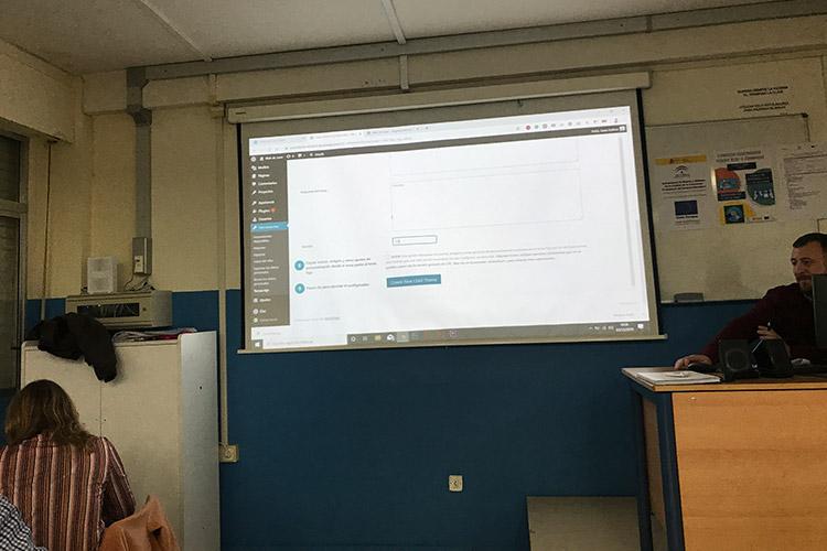 Curso diseño web y ecommerce Instituto Andrés Benítez administración herramientas de privacidad CMS