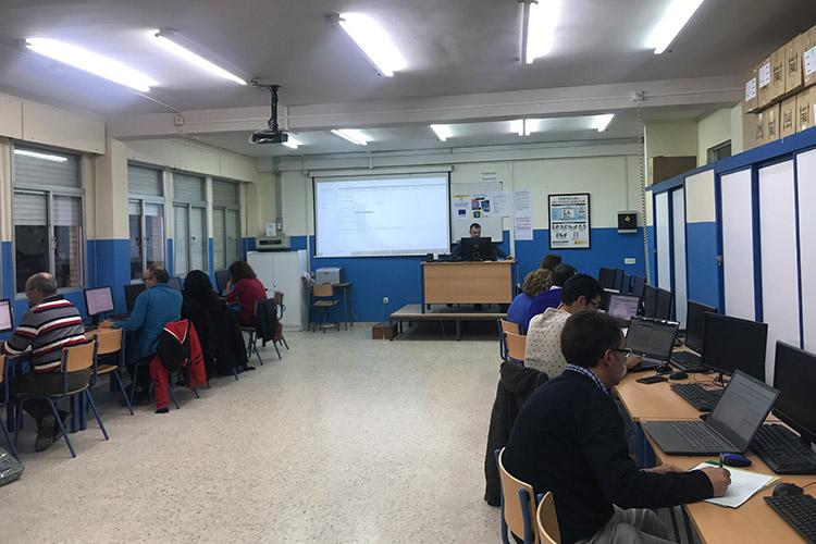 Curso diseño web y ecommerce Instituto Andrés Benítez ajustes servidor local